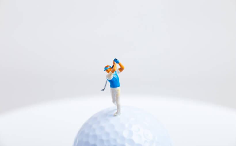 ゴルフ ミニチュア 写真