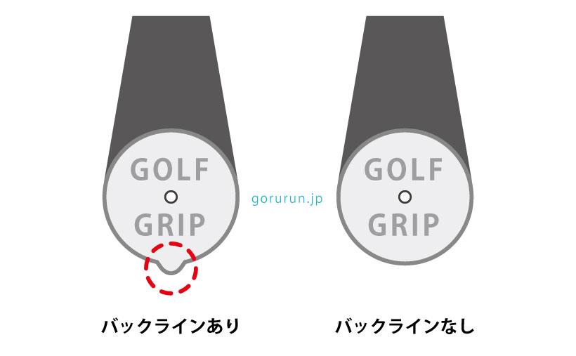 ゴルフグリップのバックラインって何だろう?あった方がいい?