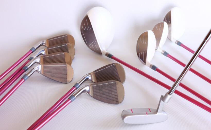 ゴルフクラブの各部名称