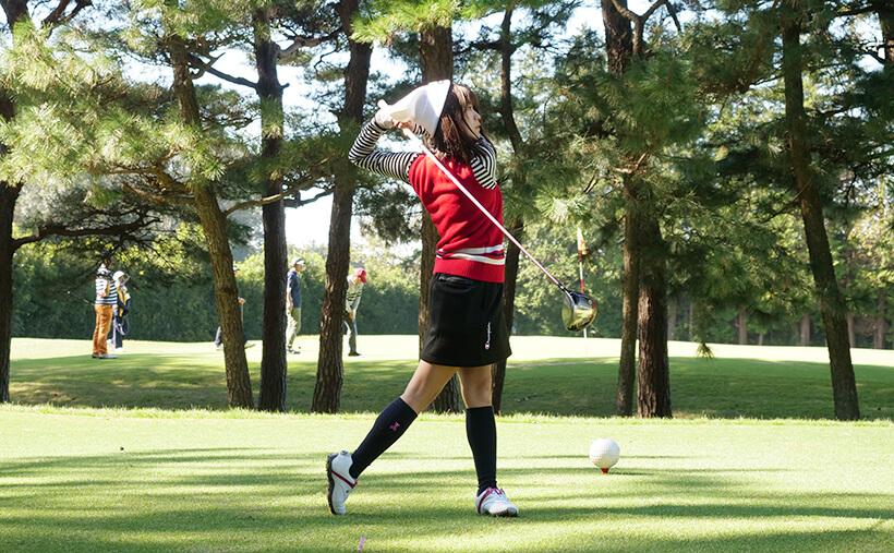 山内鈴蘭 gorurun ごるらんゴルフ 画像