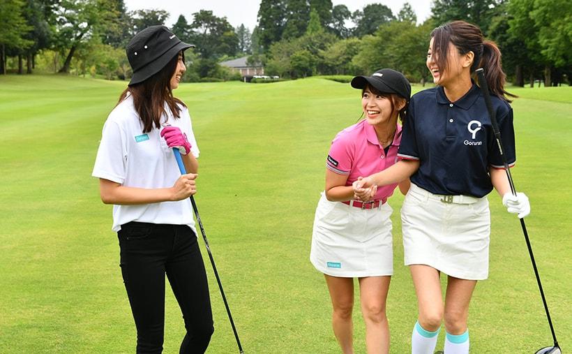 山内鈴蘭 gorurun ごるらんゴルフ女子 画像