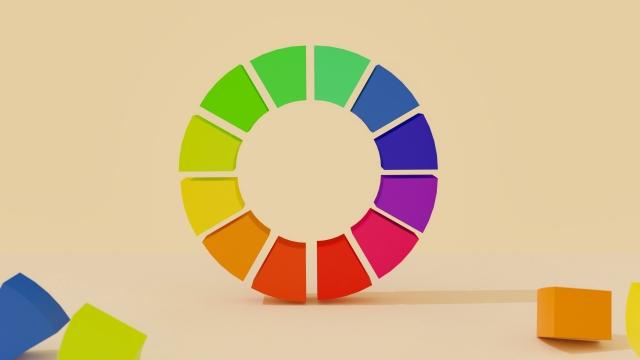 カラーコーディネイト 色相環
